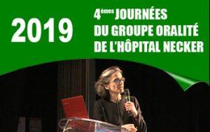 4èmes Journées du Groupe Oralité de l'Hôpital Necker